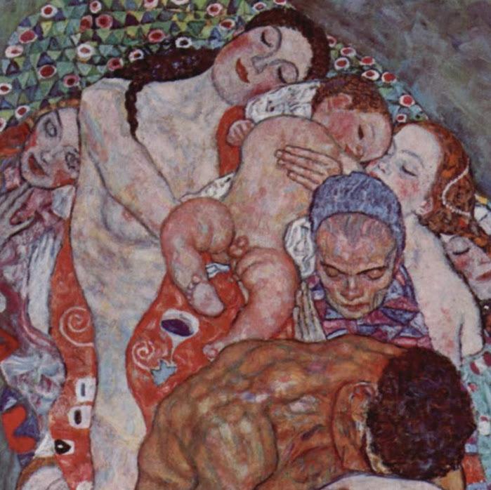 Gustav_Klimt_Morte e vita (particolare)