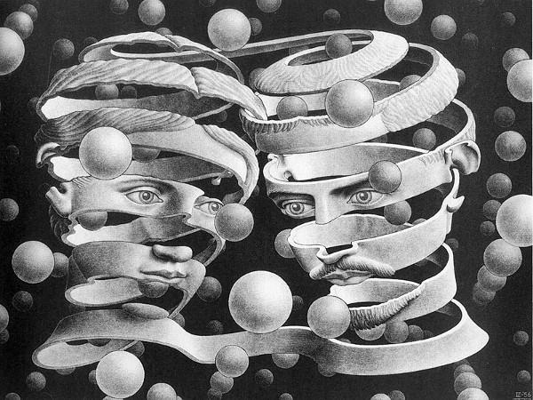 Escher, Vincolo d'unione (1956)