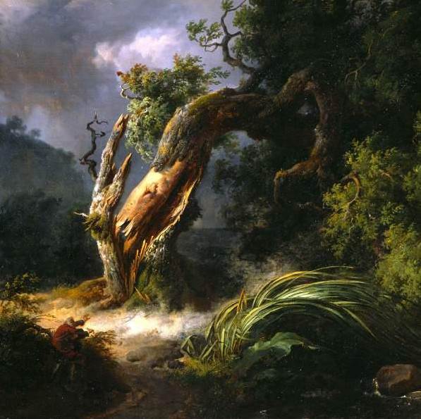 La quercia e il giunco di Achille Michallon