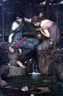 Le ninfe ritrovano la testa di Orfeo (1900) di John William Waterhouse