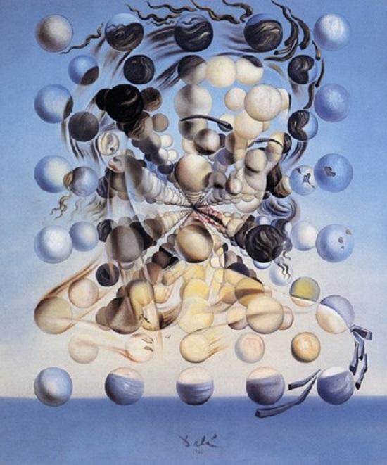 Salvador Dalì, Galatea delle sfere