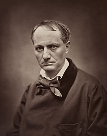 Baudelaire fotografato da Étienne Carjat, circa 1862