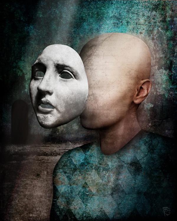 Surreal scenes, digital art by Christian Schloe