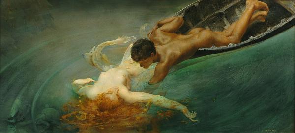 Giulio Aristide Sartorio - Sirena